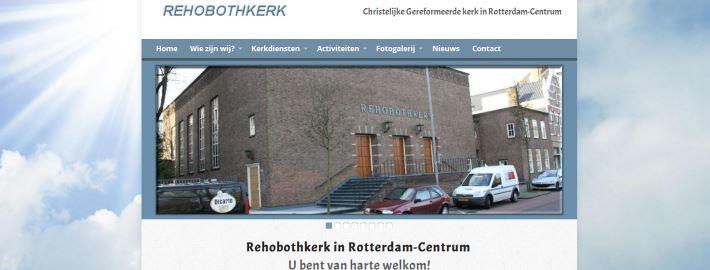 WordPress themes kerken - Rehobothkerk