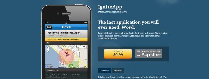App themes voor WordPress