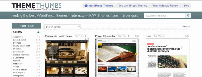 Themethumbs WordPress themes