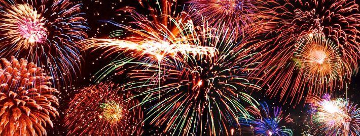 Vuurwerk nieuwjaar