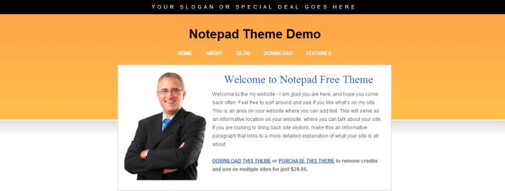 200 Gratis WordPress themes