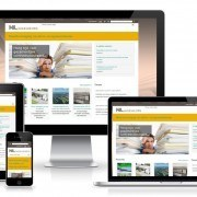 Responsive WordPress website NLingenieurs