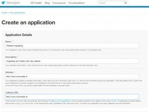 twitter-api-create-an-application