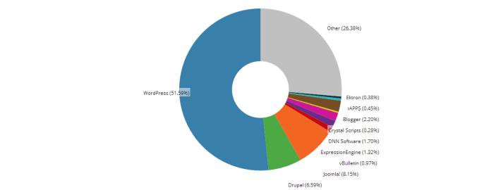 WordPress gebruiksstatistieken