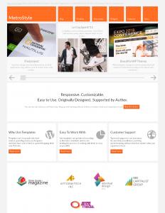 MetroStyle WordPress theme