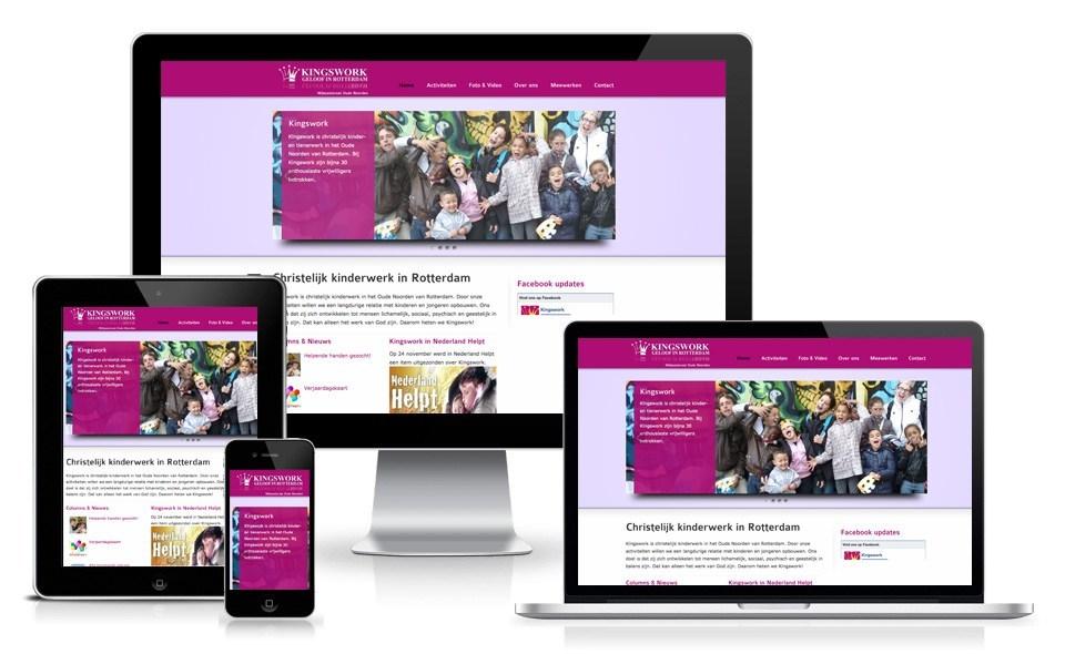 Kingswork - WordPress website