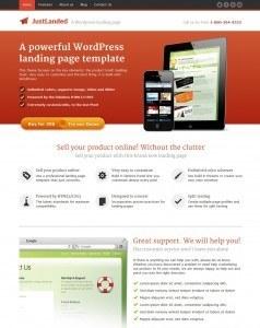 just-landed-wordpress-theme