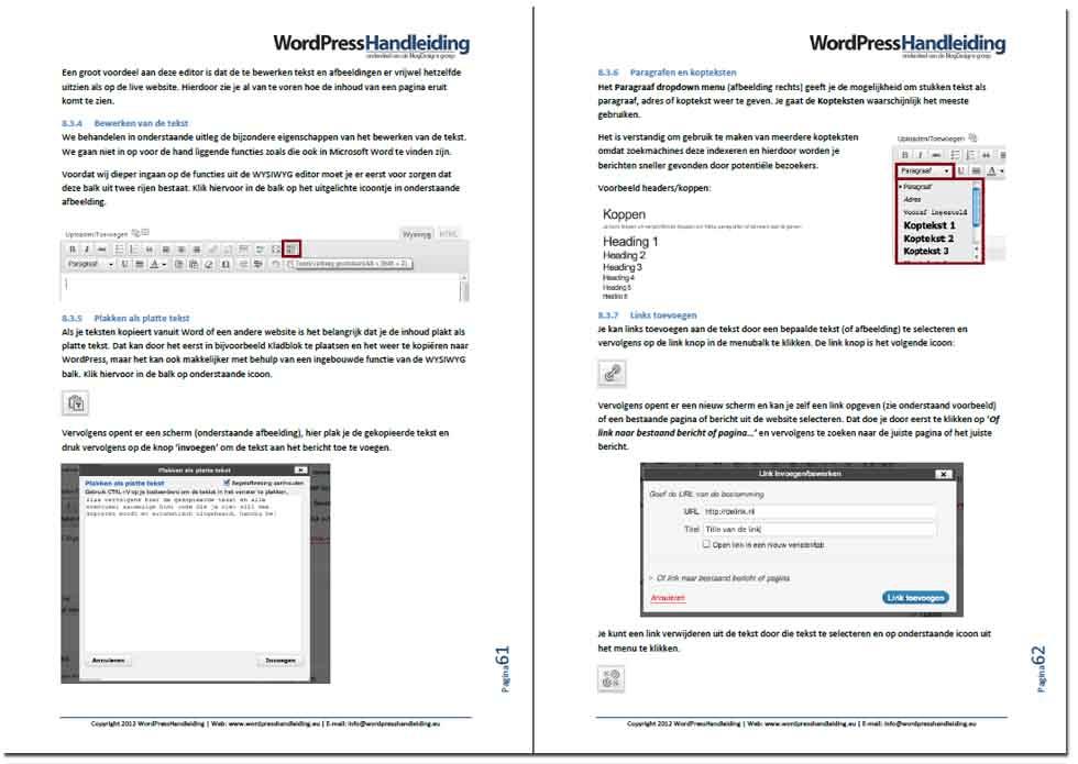 WordPress handleiding