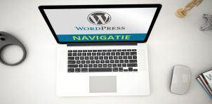 WordPres menu navigatie maken