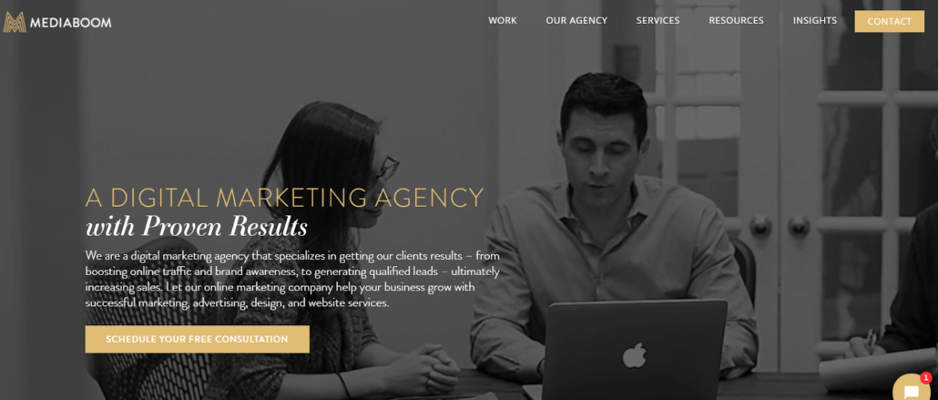 Homepage videomarketing