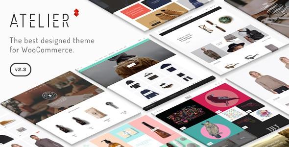 WordPress webshop theme: Atelier