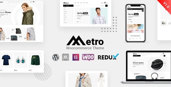 WordPress webshop theme: Metro