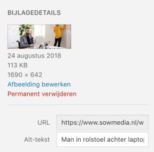 WCAG Alt-tags in WordPress